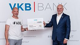 VKB-Bank als Sponsorpartnerin bei der XTREMEtour 2020