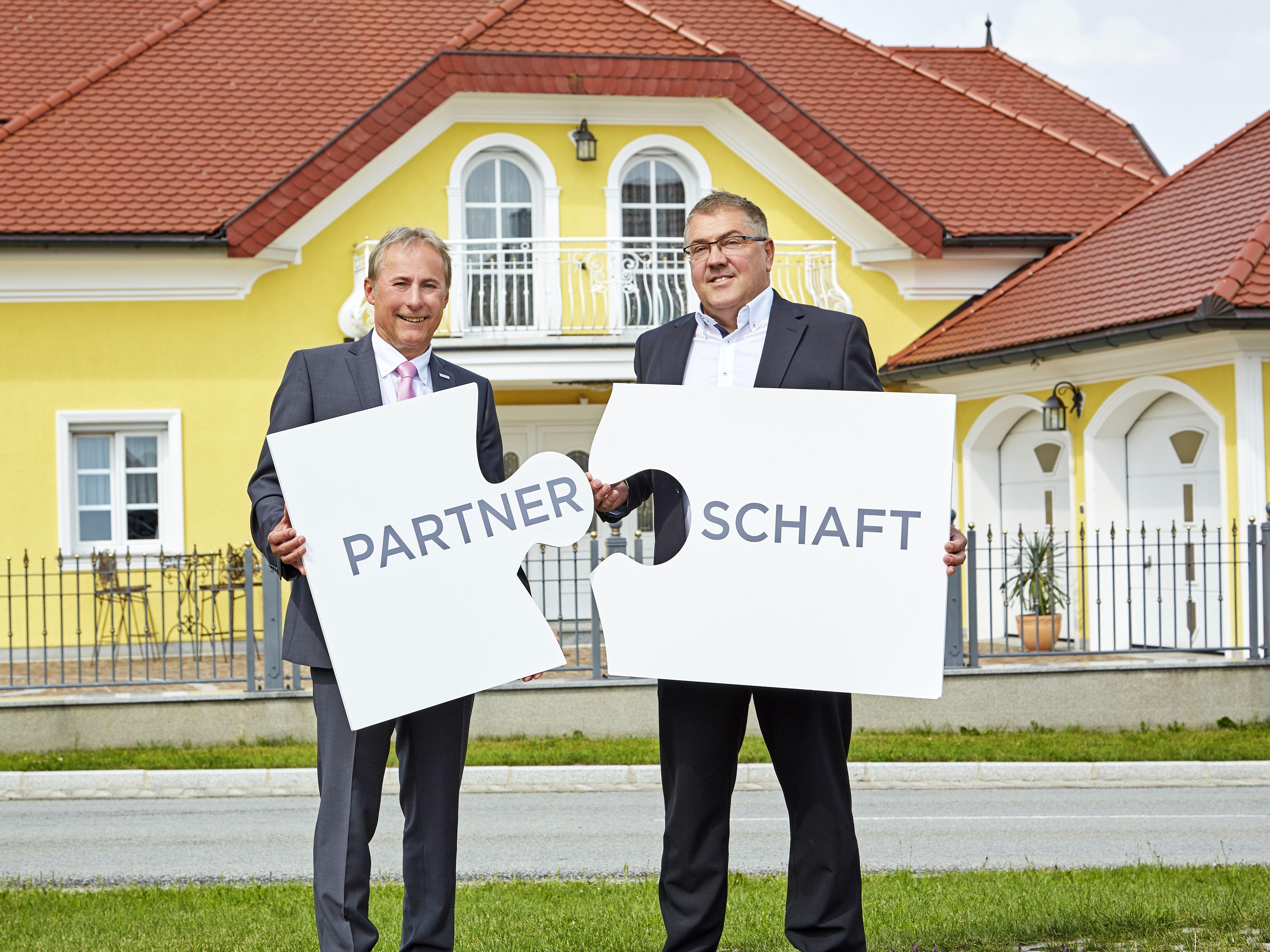 Johann Steiner mit Georg Haslinger