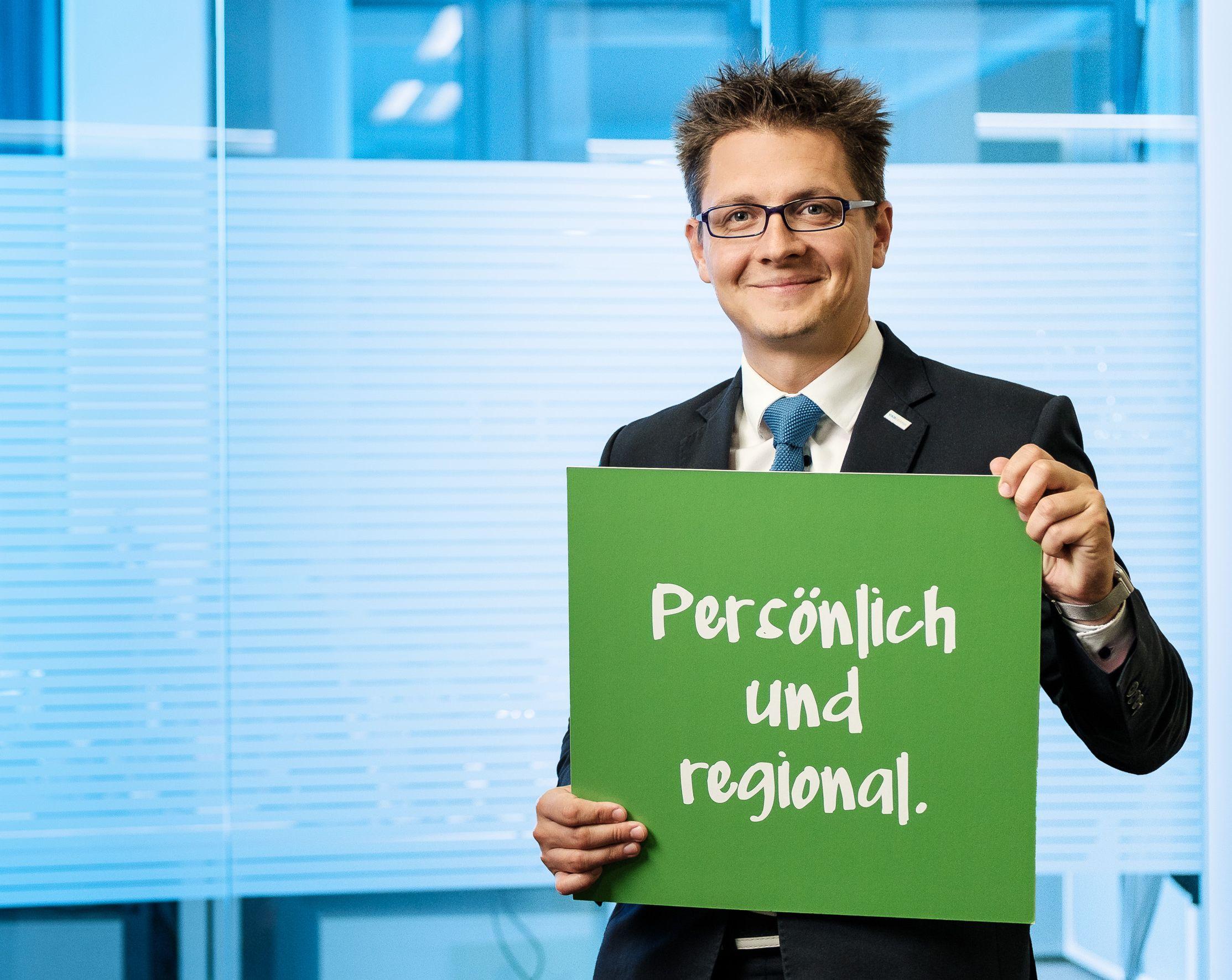 """""""Anders"""" • Regionaldirektor Martin Siebermair"""