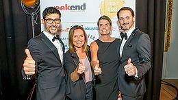 15 Jahre Weekend Magazin – VKB-Bank feiert mit