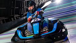 VKB-Vorstandsdirektor Alexander Seiler im Rotax MAx Dome