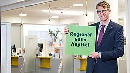 Neuer Filialleiter der VKB-Bank Gmunden-SEP: Robert Torlutter