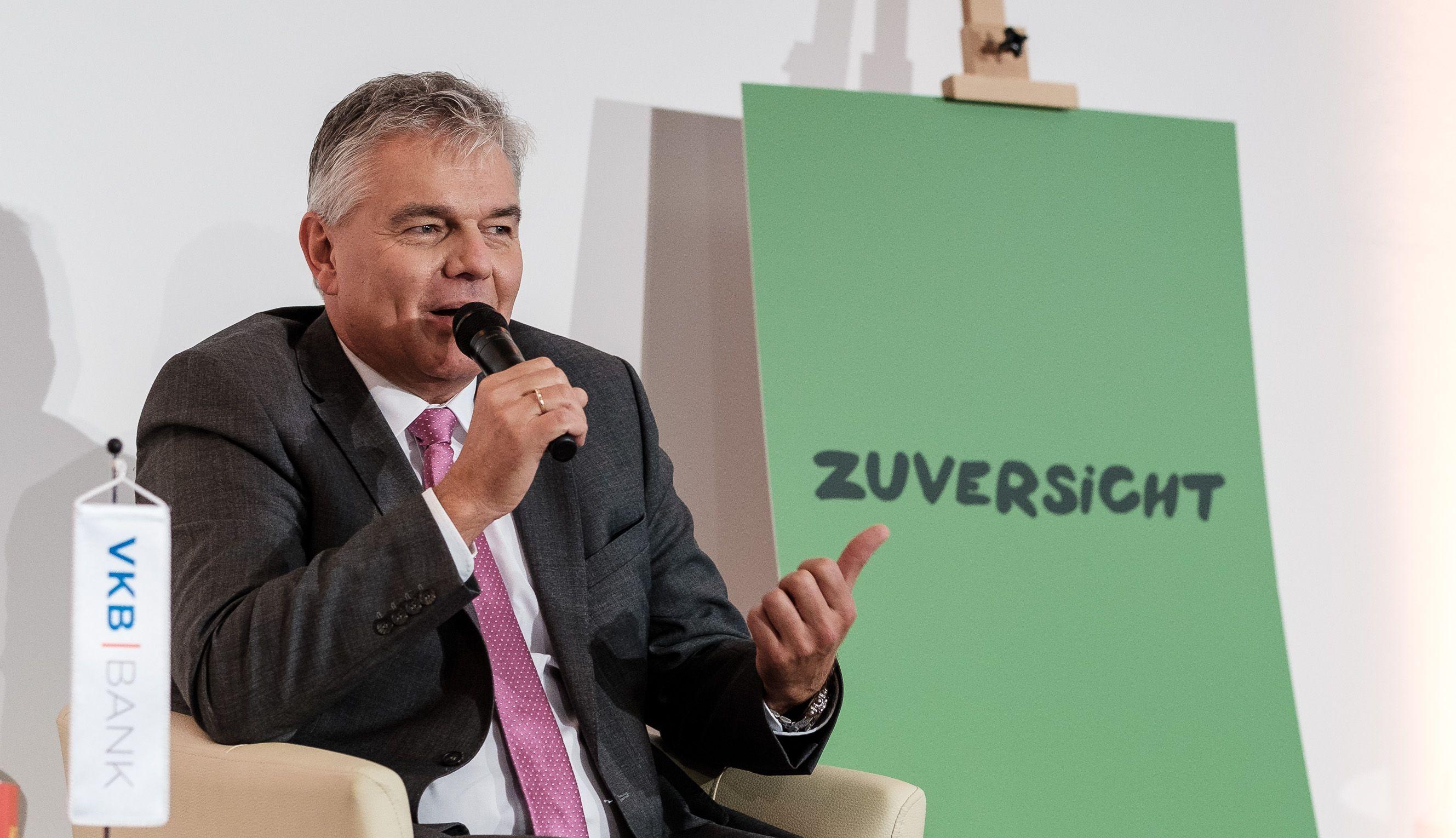 KommR Leo Jindrak, Vizepräsident der Wirtschaftskammer Oberösterreich