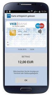 Bezahlen mit der mobilen Bankomatkarte