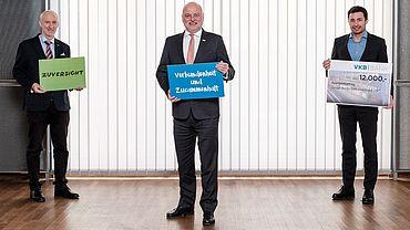 VKB-Bank unterstützt Junge Wirtschaft Linz-Stadt auch im Jahr 2021