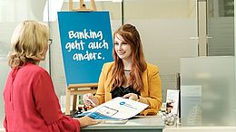 VKB-Bank-Betreuerin Sarah Weiß • VKB-Bank