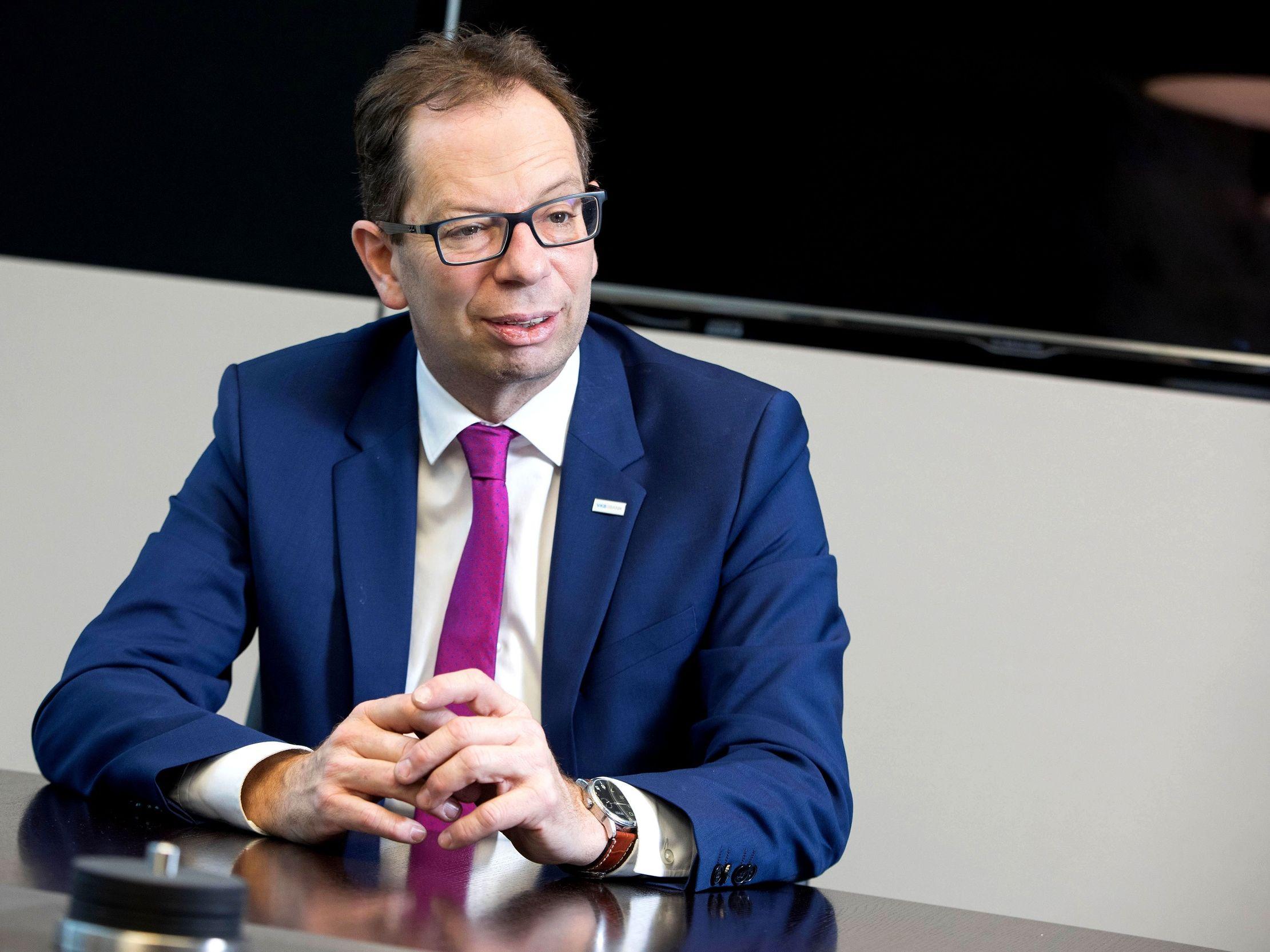 VKB-Generaldirektor Christoph Wurm (©VKB-Bank/Walkolbinger)