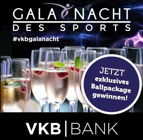 Galanacht des Sports Gewinnspiel VKB Bank