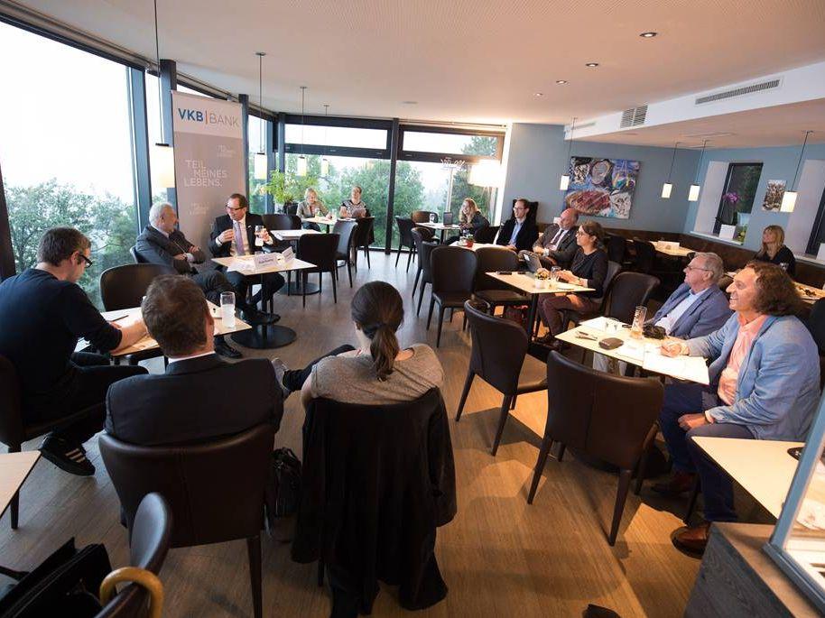 Expertengespräch im Cafe Jindrak am Pöstlingberg