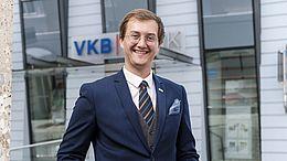 Wolfgang Leeb ist neuer Filialdirektor der VKB-Bank Gmunden