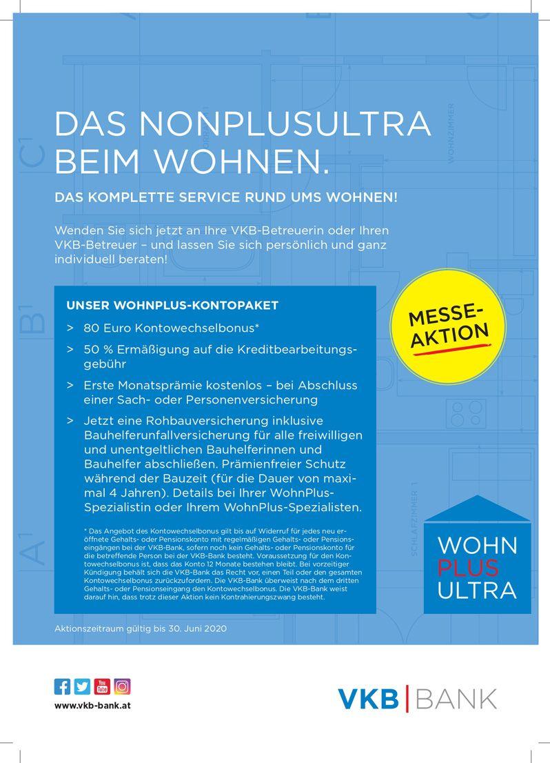Wohnplus Kontopaket VKB Bank