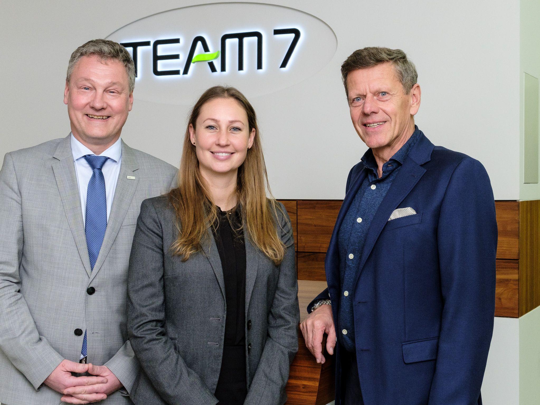 VKB-Bank besucht TEAM 7
