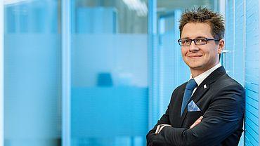 """""""Menschliches Banking"""" • Regionaldirektor Martin Siebermair"""
