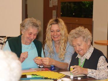 Nachmittag mit Senioren