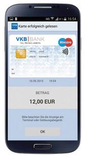 mobile Bankomatkarte