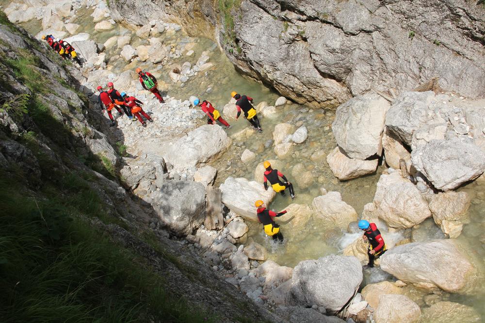 Canyoning im Salzkammergut
