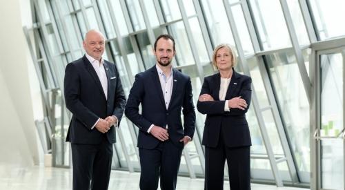 Das Vorstandsteam der VKB-Bank